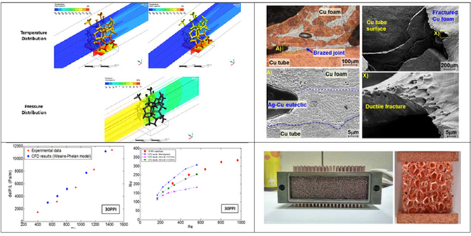 Development of Micro Heat Exchanger using Micro Cellular Structure